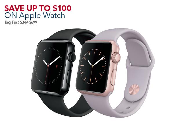 Apple Watch(オンラインでも購入可)
