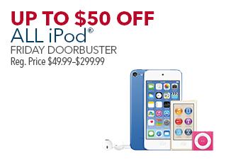 All iPod(オンラインでも購入可)