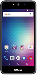 BLU - Grand M with 8GB Memory Cell Phone (Unlocked) - Gray